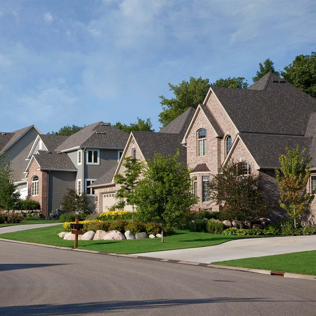 Upscale neighborhood